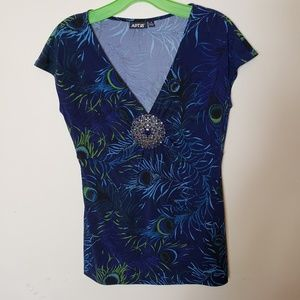 Women's Apt.9 Size Small Embellished Top Brooch
